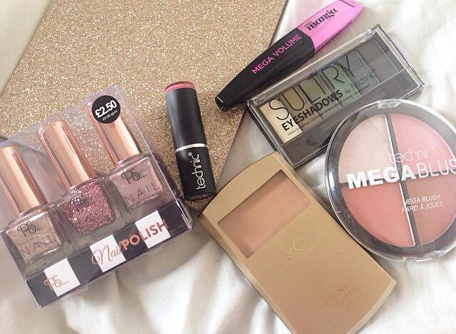 Body care & Primark Haul – Budget friendly makeup