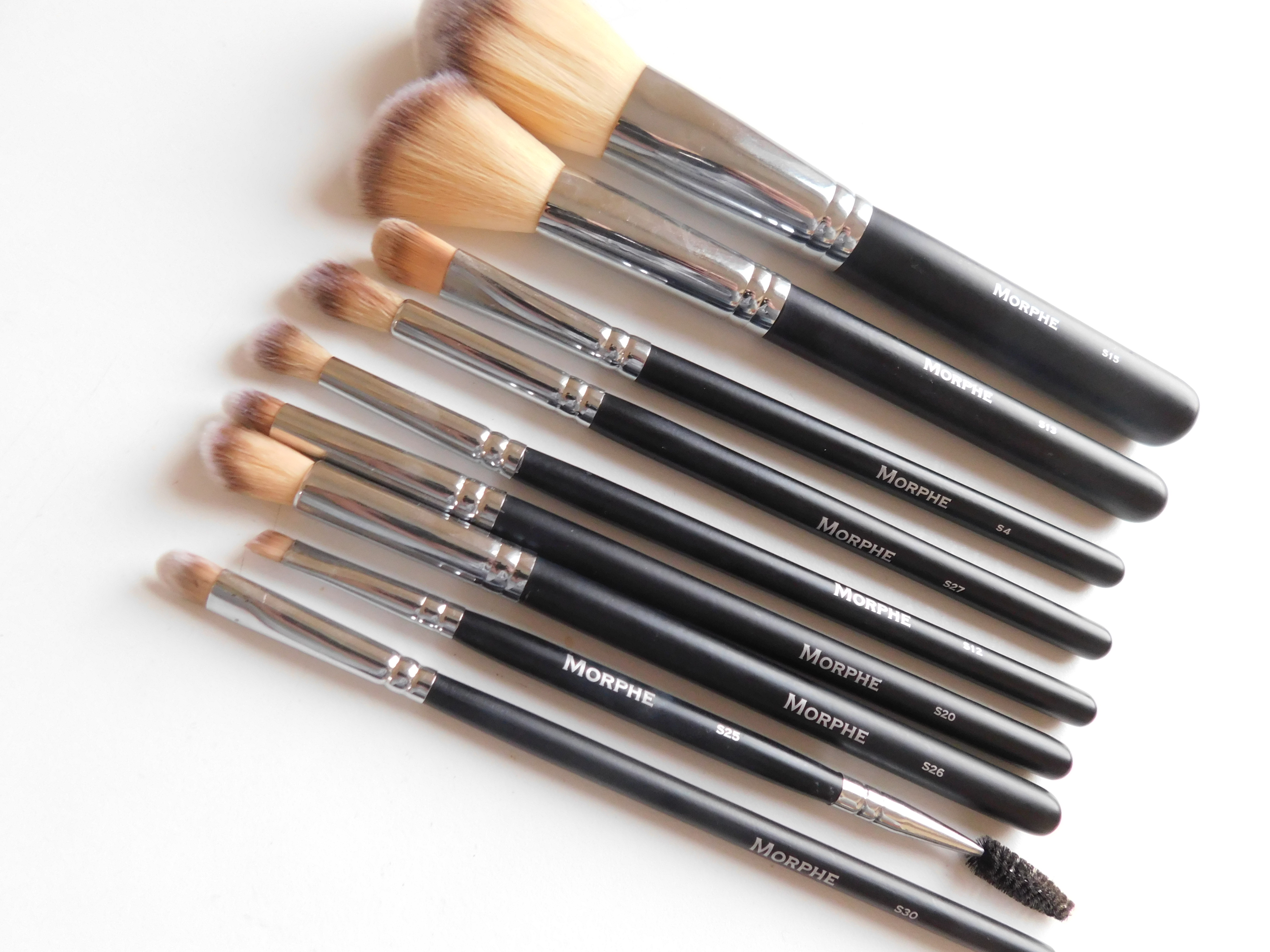 Favourite Morphe Brushes from the 15 piece vegan pro set.
