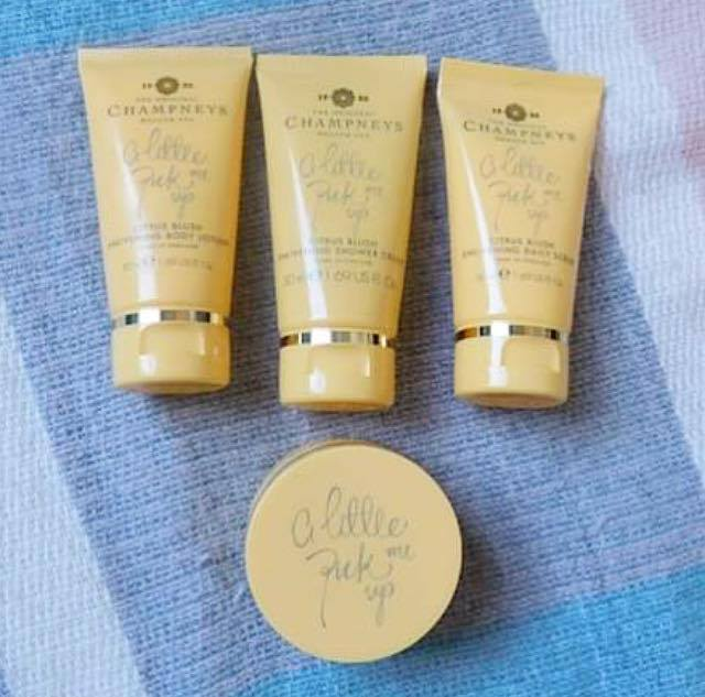 Champneys spa 'A Little Pick Me Up shower & body set review