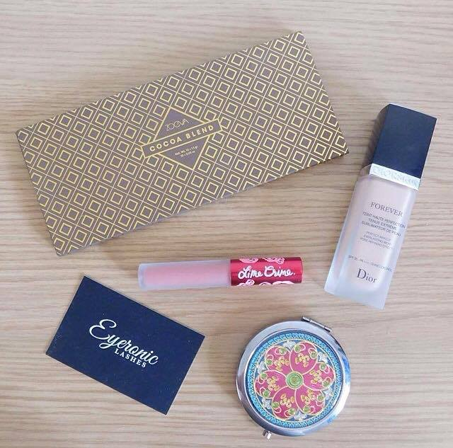 Summer makeup look featuring Zoeva and Lime Crime