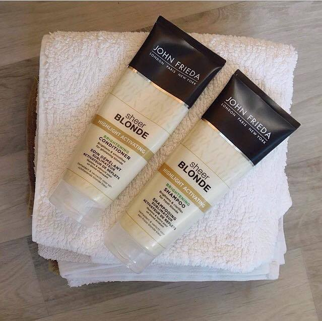 Ingredient Breakdown #2 – John Frieda Sheer Blonde Highlight Activating shampoo & conditioner