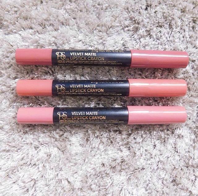 Primark lip crayons 1