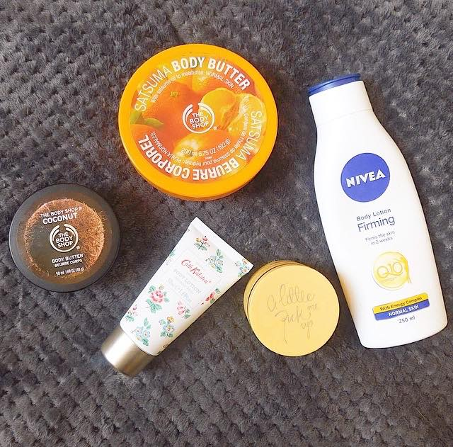 Top 5 body moisturisers!