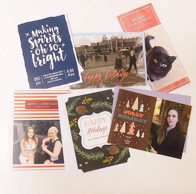 The Best Personalised Christmas Cards & Invites with Basic Invite!