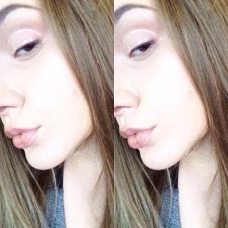 Easy Glossy Eye Makeup Look