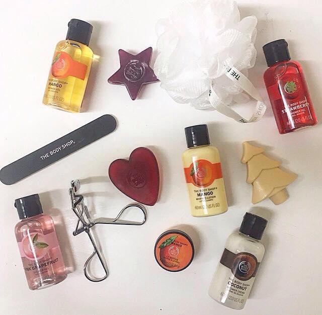 The Body Shop 24 Days of Beauty Advent Calendar – First 12 Days!