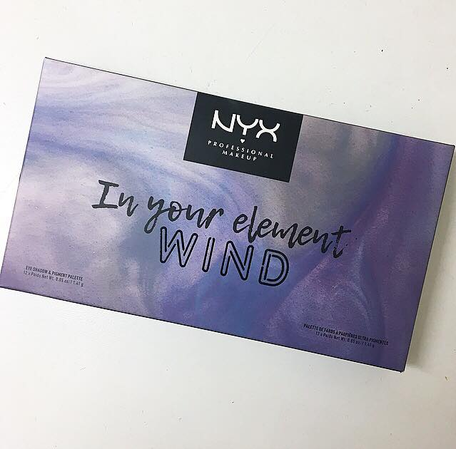 NYX 'In Your Element' Wind Eye-shadow Palette | review & swatches