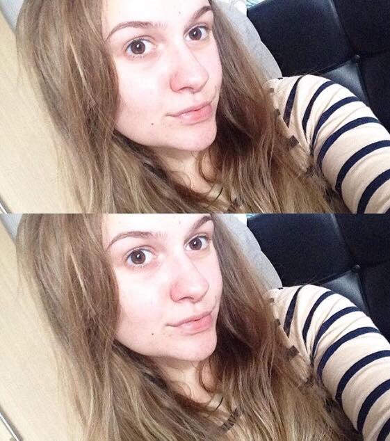 Colorsport selfie before 1