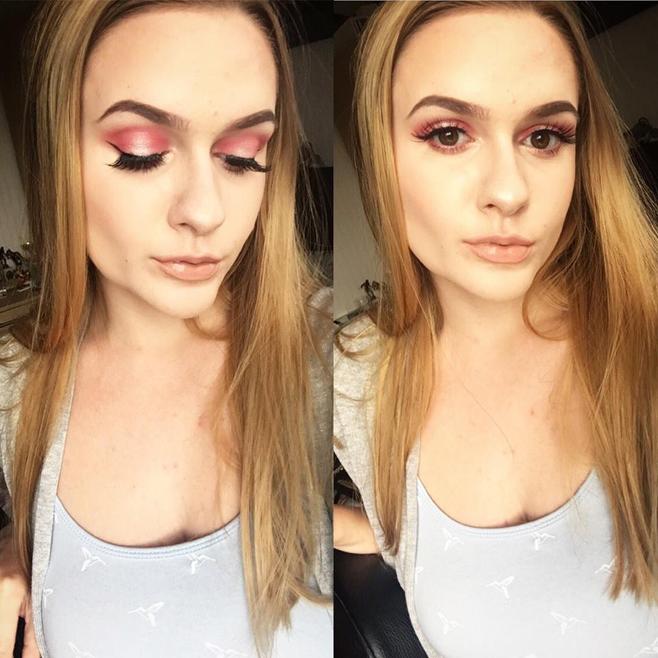 Halo Eye Makeup Look Using The Revolution x Soph Eyeshadow Palette