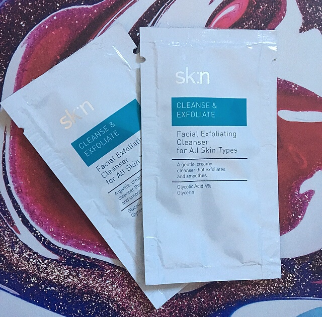 Sample Wednesday: sk:n Cleanse & Exfoliate Facial Exfoliating Cleanser