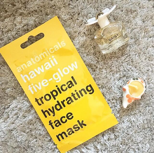 Anatomicals Hawaii Five-Glow Tropical Hydrating Face Mask Review