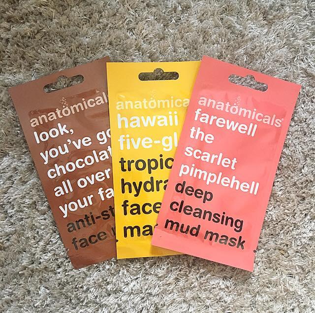 Anatomicals masks