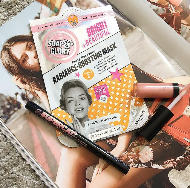 Soap & Glory Party Recovery Radiance-Boosting Mask | Review
