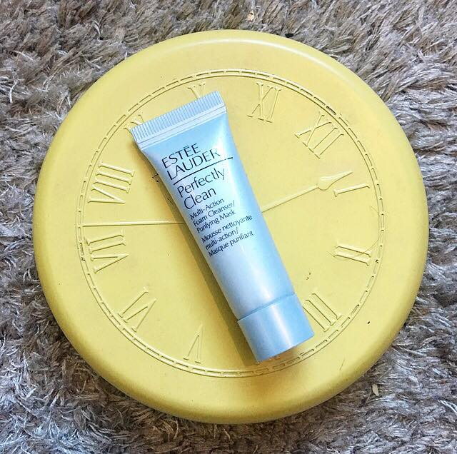 Sample Wednesday: Estée Lauder Perfectly Clean Foam Cleanser / Purifying Mask | First Impressions Review