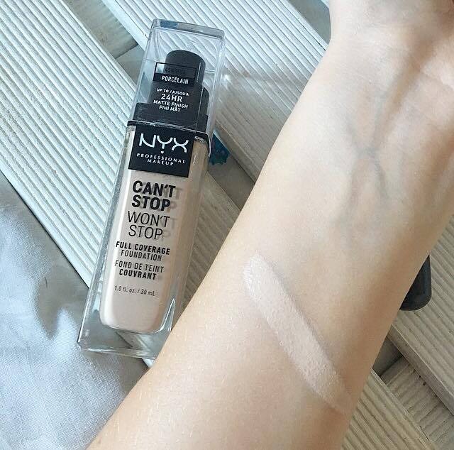 NYX Can't Stop Won't Stop Foundation Review