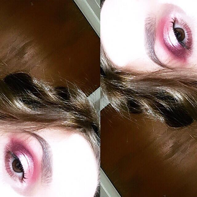 Pink & Purple Makeup Look