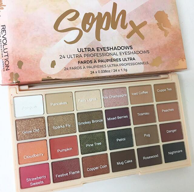 Revolution eyeshadow soph