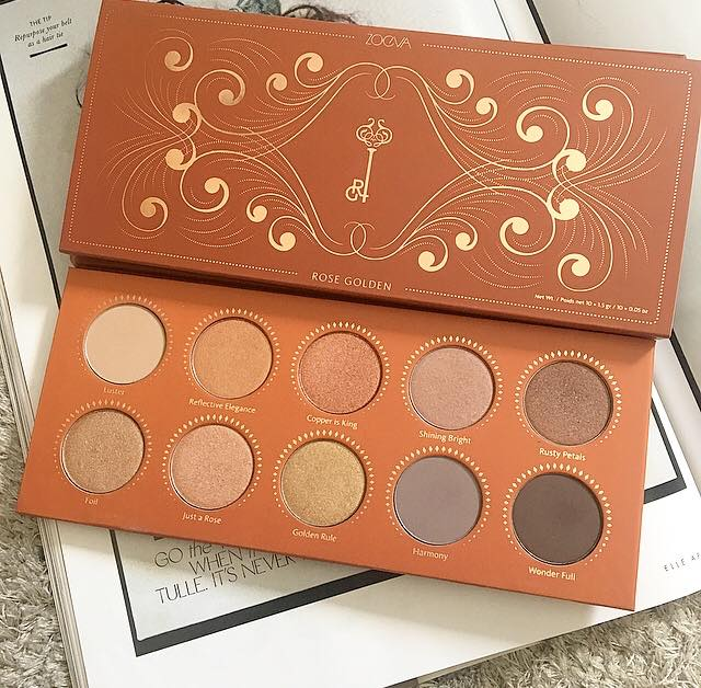 Zoeva Rose Golden Eyeshadow Palette | Review & Swatches