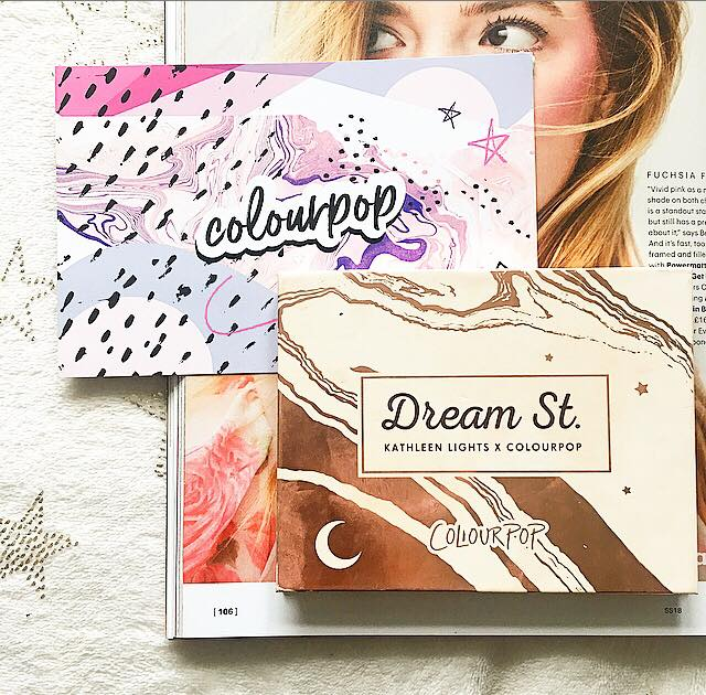 Colourpop x Kathleen Lights Dream St Eyeshadow Palette | Review & Swatches