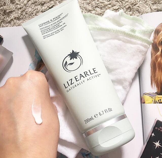 New to my collection | Liz Earle Cleanse & Polish