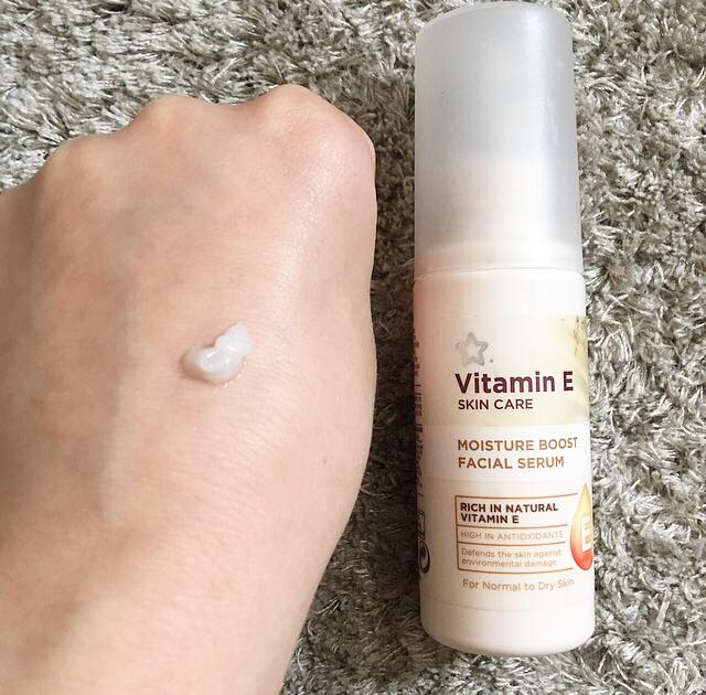 This image is of the Superdrug Vitamin E serum