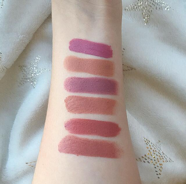 Current Favourite Lipsticks
