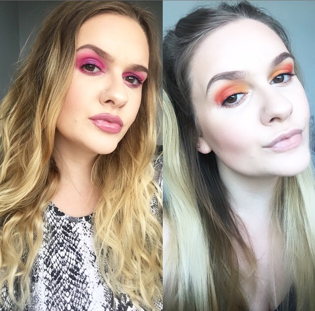 2 Looks Using The Morphe x James Charles Mini Palette + Review